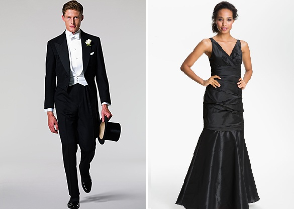 Wednesday roundup dress code by leah michelle for Formal dress code wedding